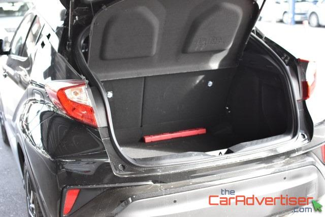 Toyota C-HR boot space