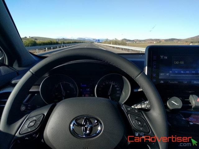 Test driving the Toyota C-HR in Southern Spain